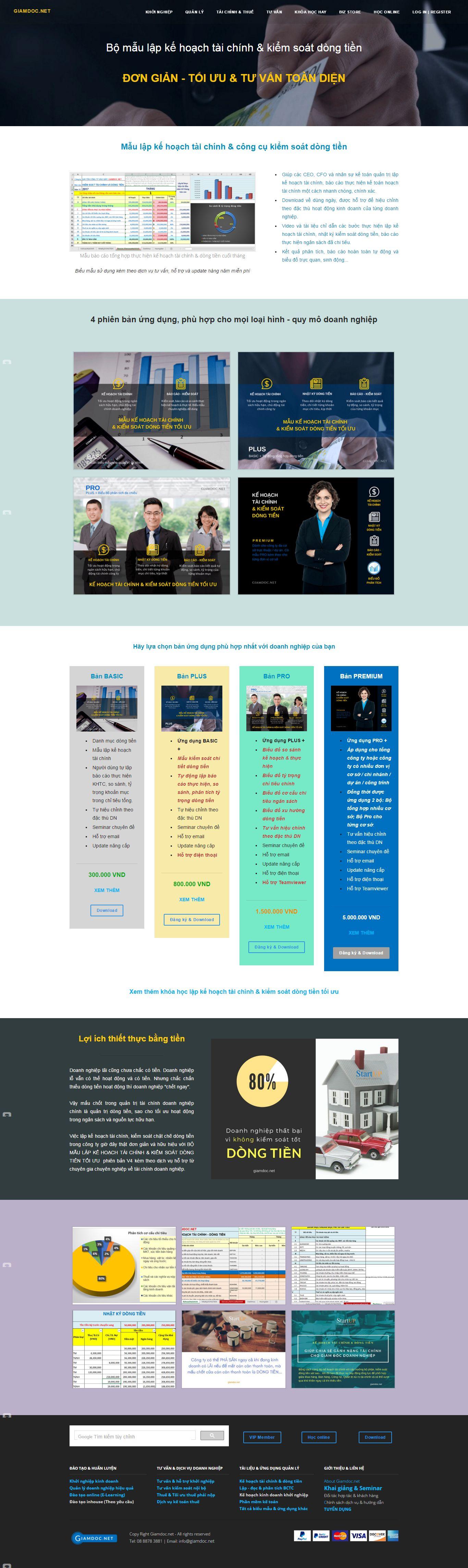 Thiết kế website Tư vấn, huấn luyện & hỗ trợ phát triển kinh doanh bền vững