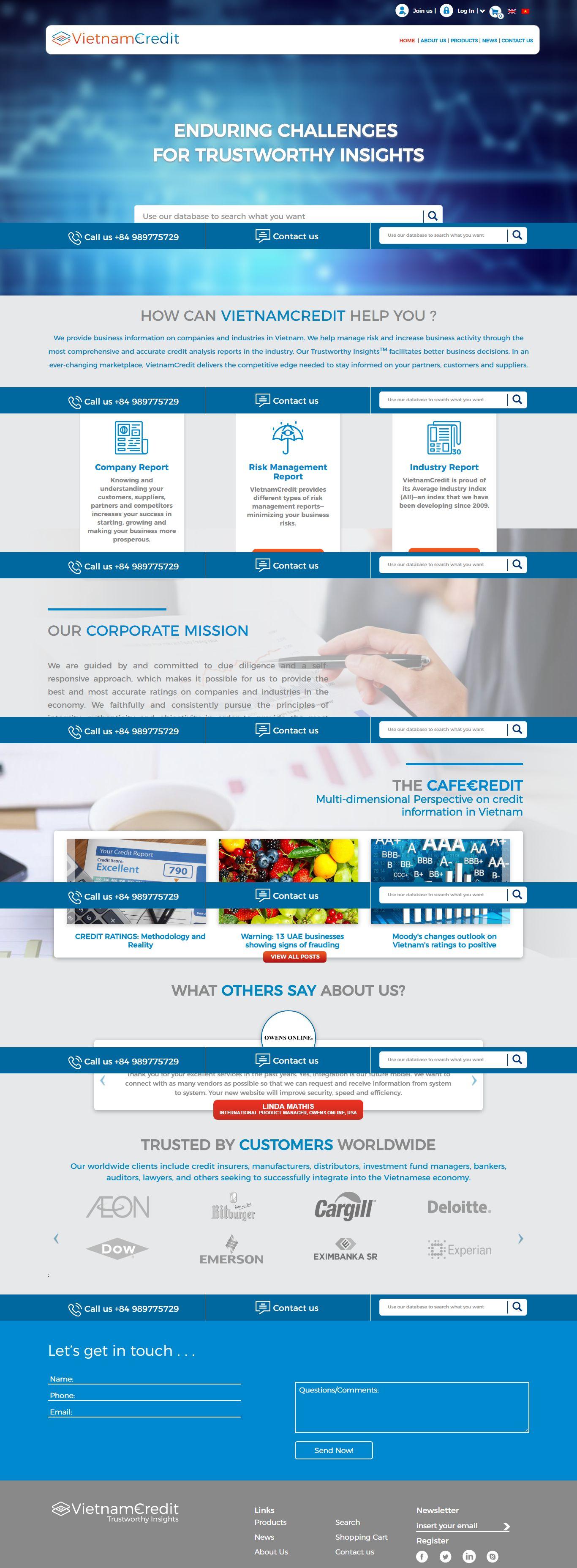 Thiết kế website tài chính đẹp, chuyên nghiệp chuẩn SEO