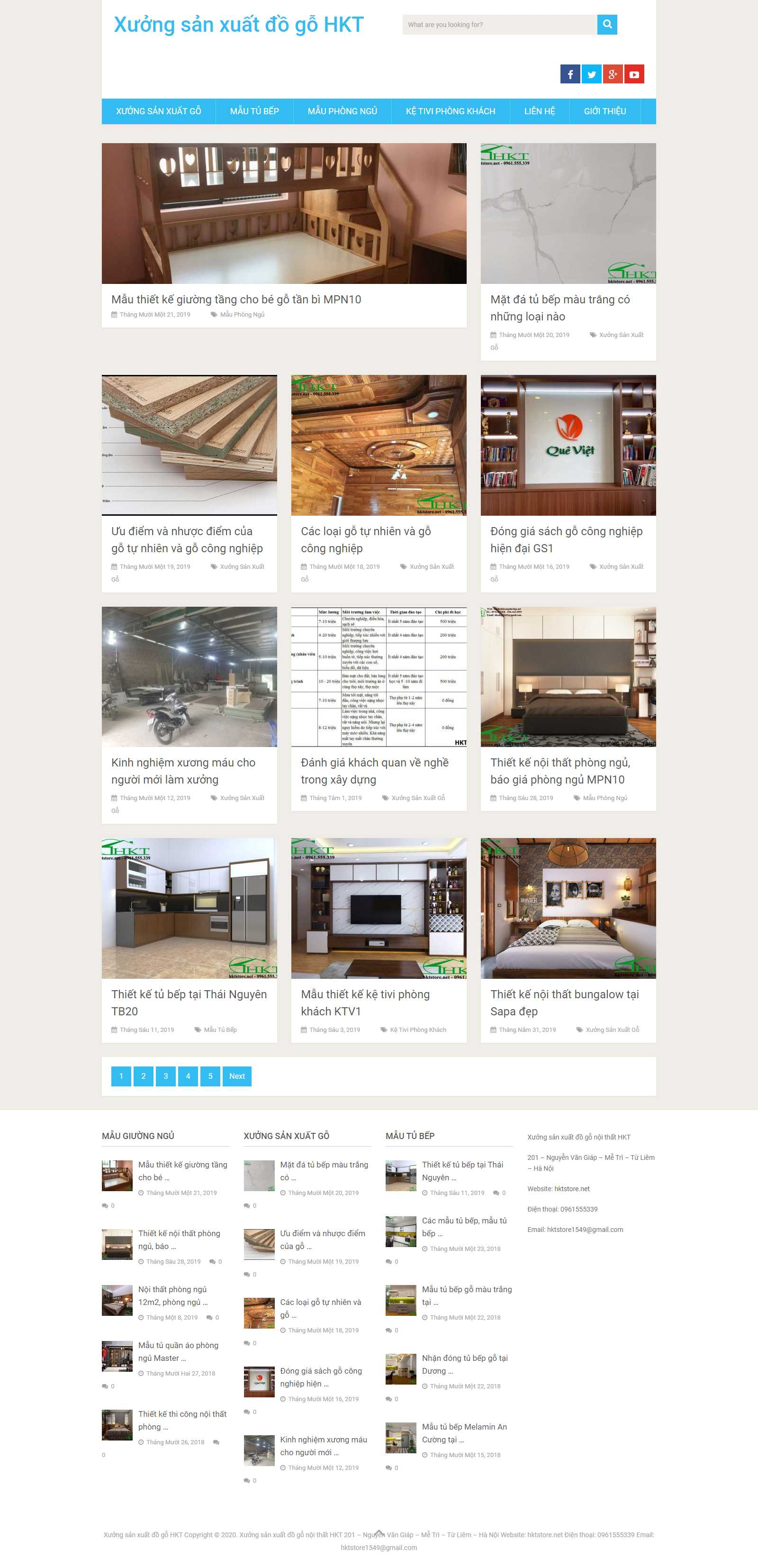 Thiết kế Web Cần Thơ - hktstore.net