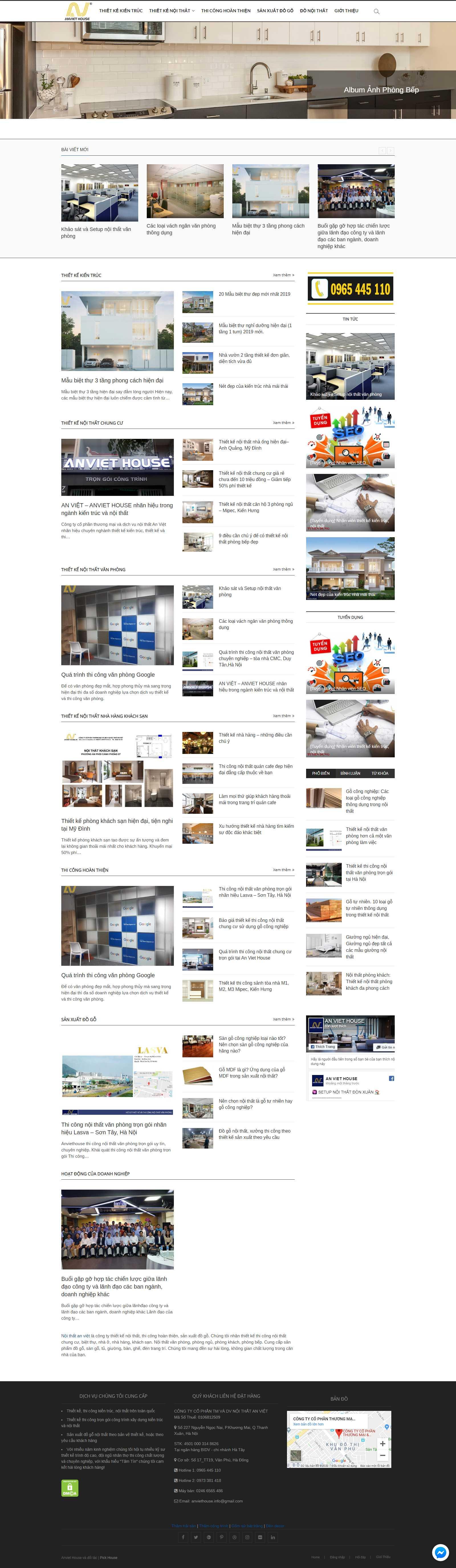 Thiết kế Web Cần Thơ - anviethouse.vn