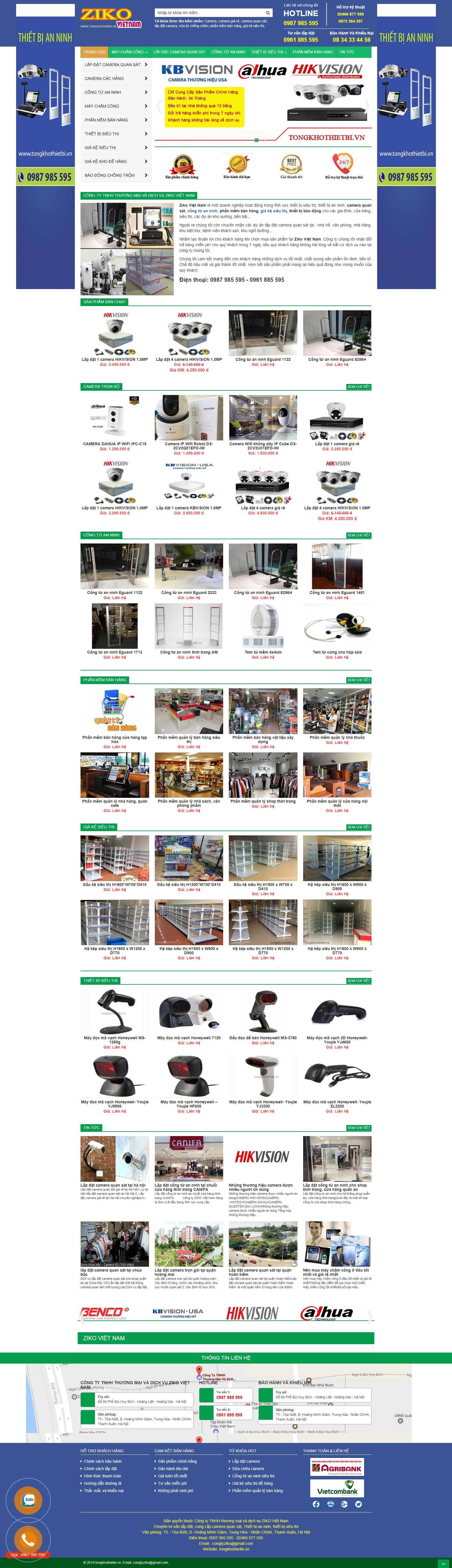 Thiết kế Web bán buôn - tongkhothietbi.vn