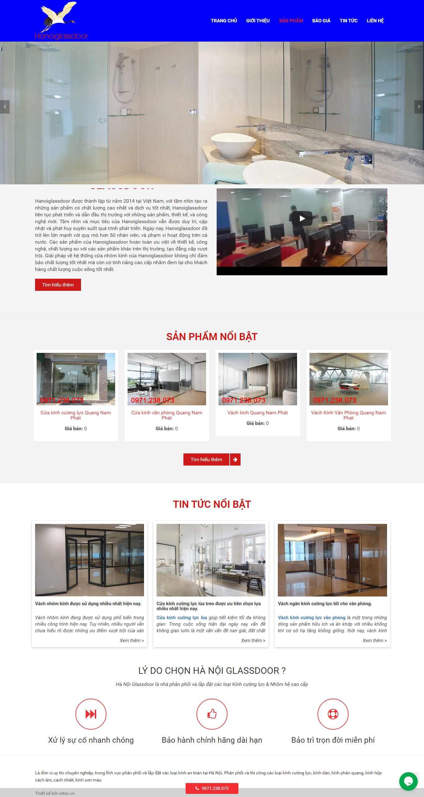 Thiết kế Web Cần Thơ - hanoiglassdoor.com