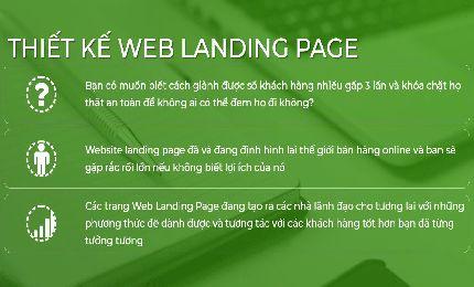Thiết Kế Landing Page Web thời trang may mặc